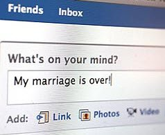 divorce and social media
